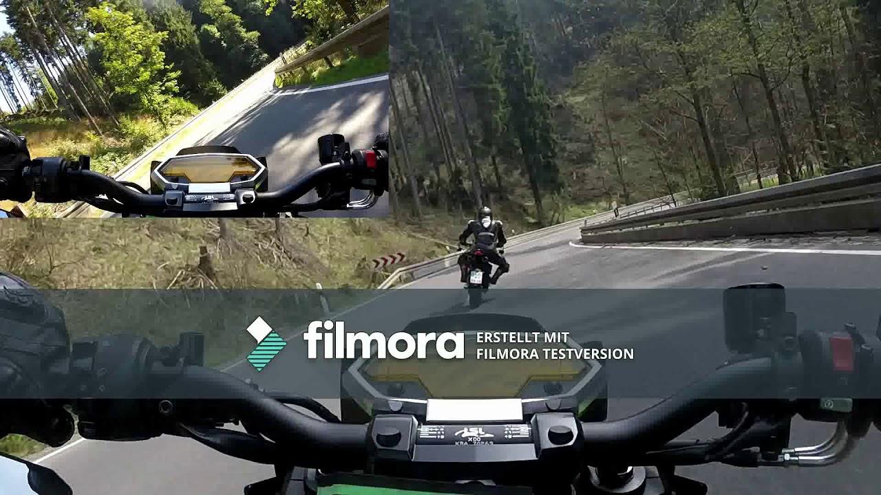Kawasaki Z1000 Ducati Monster 1200 R Having Fun Youtube
