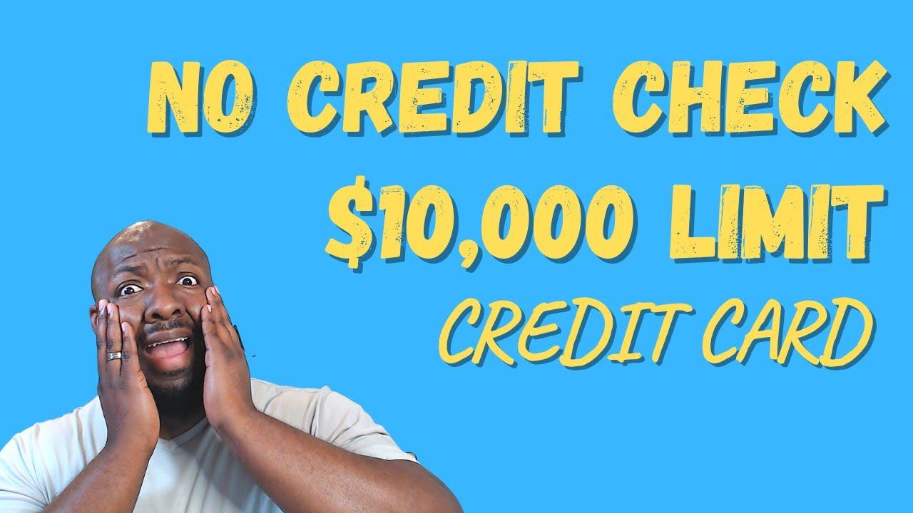 No Credit Check Credit Card   $10,000 Credit Limit   Varo Bank Card