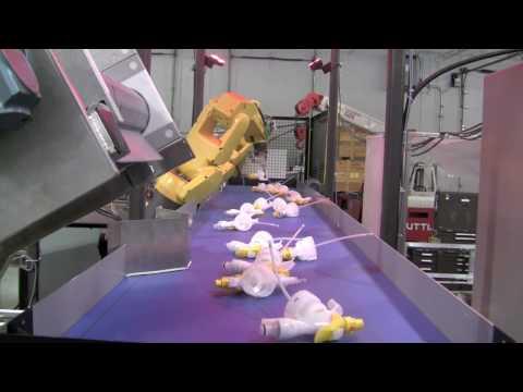 Robotic Bottling Automation Line