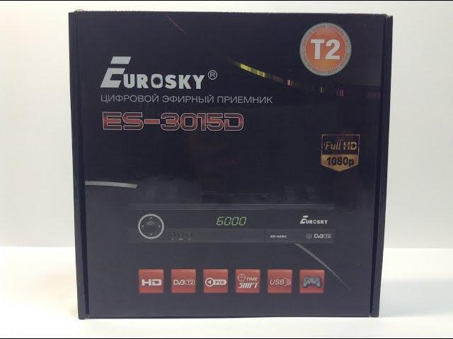 Видео обзор Eurosky ES-3015D