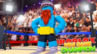 I AM THE MINI GAME CHAMPION !!! Sharky Gaming | Roblox