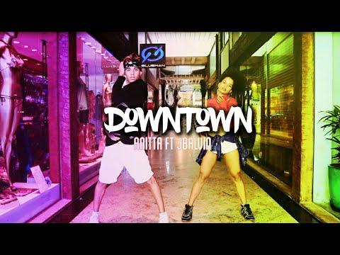 Downtown - Anitta ft JBalvin Thi  Coreografia