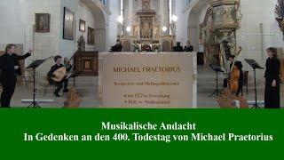 Musikalische Andacht zum Praetorius Jubiläum