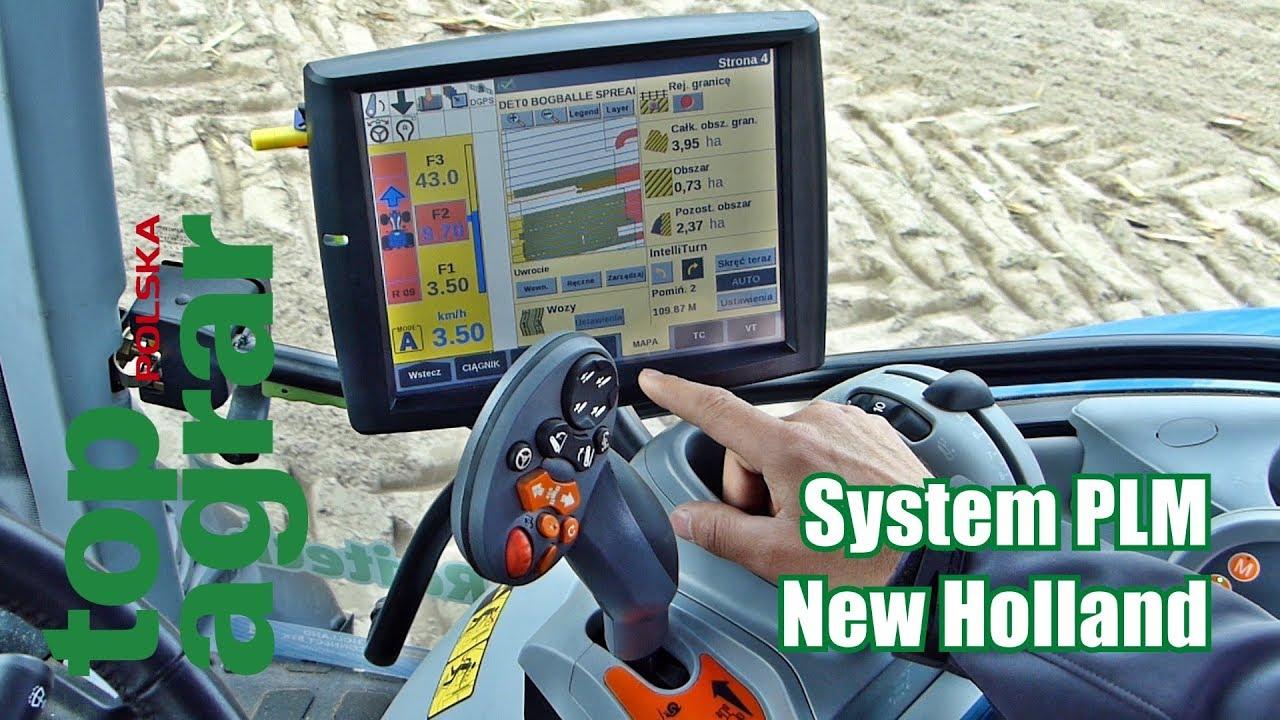 New Holland PLM – rolnictwo precyzyjne – top agrar Polska