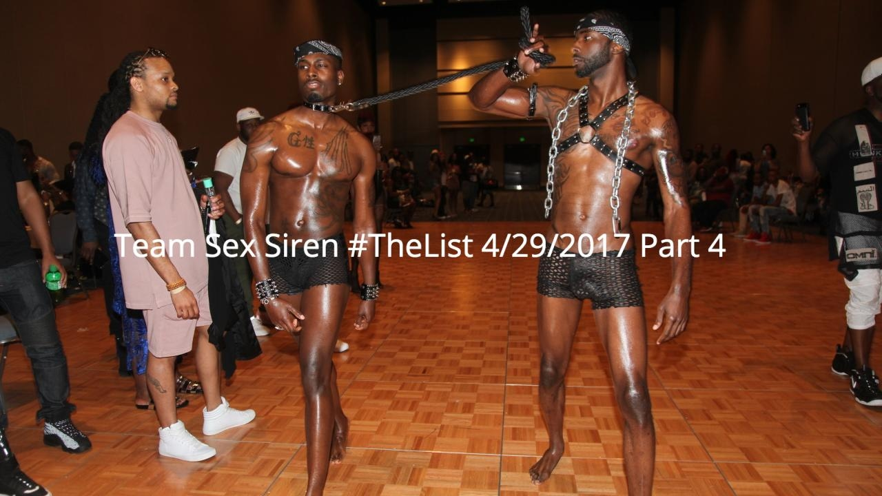 Team Sex Siren #TheList 4/29/2017 Part 4 - YouTube  Team Sex Siren ...