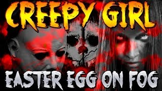 """Call of Duty Ghosts: """"CREEPY GIRL"""" Michael Myers """"EASTER EGG"""" on """"FOG"""" (COD GHOSTS DLC) 