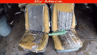 How to Upholster A Bucket Seat - How to Repair Bucket Seat Foam