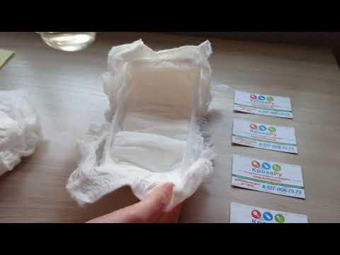 Видео обзор тест сравнение подгузников Merries и Mitomi