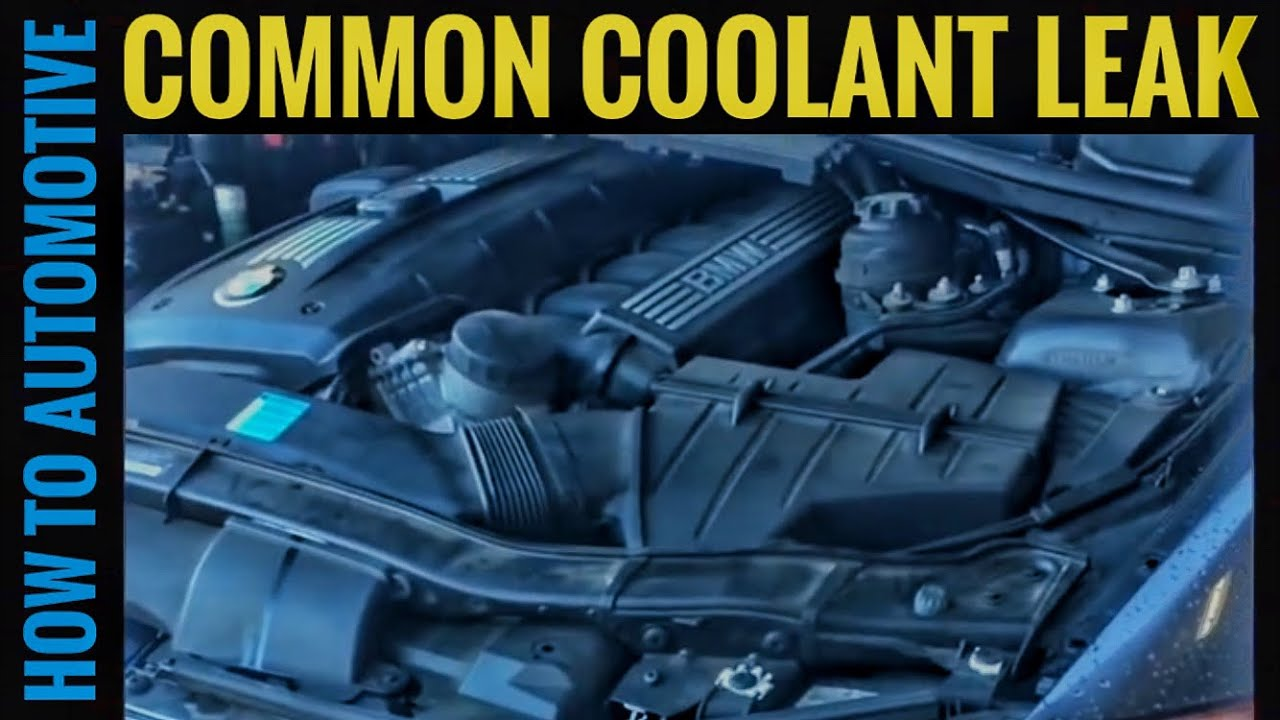 How to Repair a Common Coolant Leak on a BMW 3/5 Series