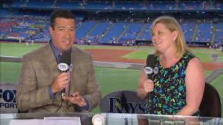 Tampa Bay Rays CDO Melanie Lenz on Ybor City stadium proposal -- 07/11/2018