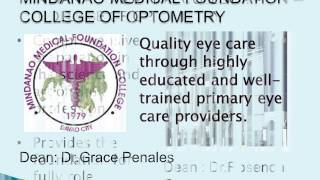 Education of Optometry in the Philippines