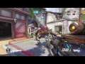Overwatch competitive mode 6 placement games (NO VOICE)