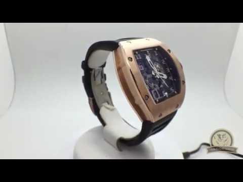 Швейцарские часы RICHARD MILLE SKELETON RM 010