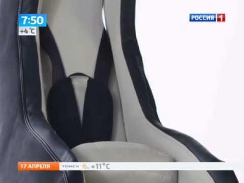 Надувное детское автокресло покоряет водителей и пассажиров
