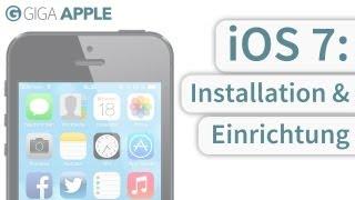 iOS 7: Installation und Einrichtung