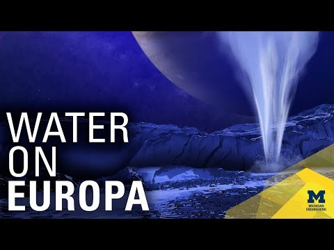 New Evidence of Water on Europa