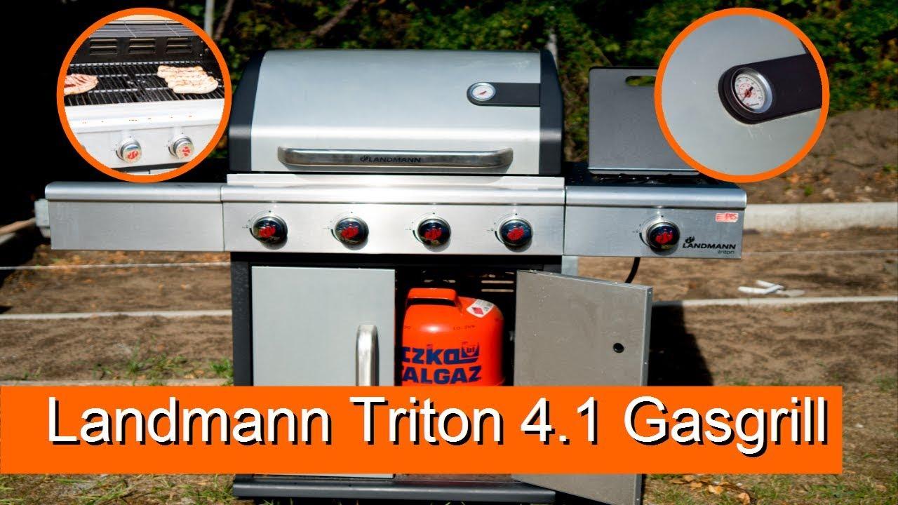 Landmann Gasgrill Welches Gas : Landmann triton 4.1 gasgrill vorstellung review 4k youtube
