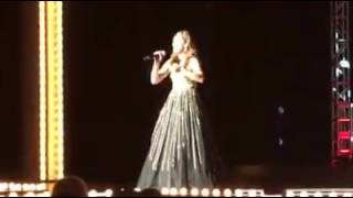 Tiffany on stage at the Miss Virginia Pageant