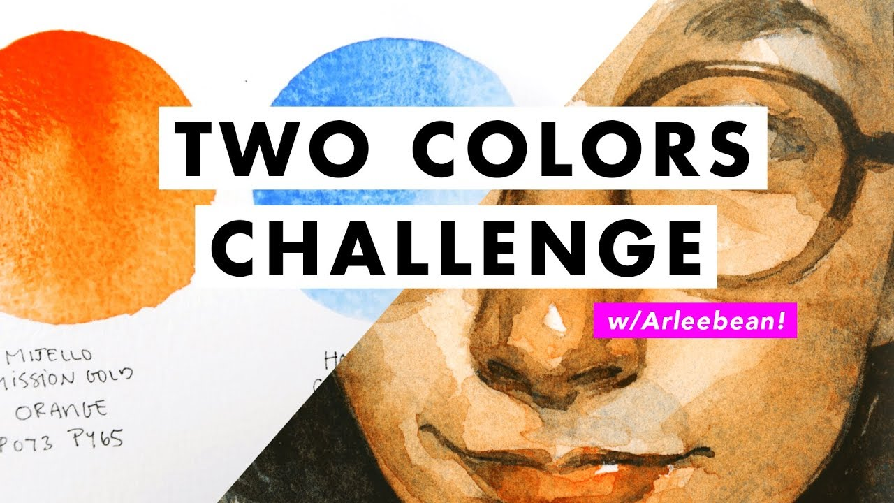 Just Two Colors! Limited Palette Challenge with Arleesha (Arleebean)