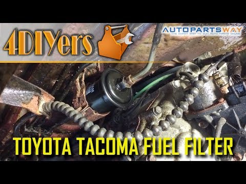 DIY: Toyota Tacoma 1995 2004 Fuel Filter Replacement