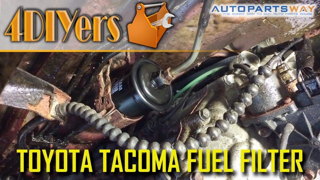 DIY: Toyota Tacoma 1995 to 2004 Fuel Filter Replacement - YouTubeYouTube