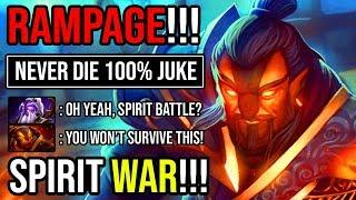 HOW TO USE SPIRIT TO DESTROY SPIRIT Crazy Meta Rampage Ember 100% Juke God 23min GG Never Die DotA 2