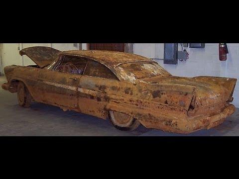 Rust Look Paint Car