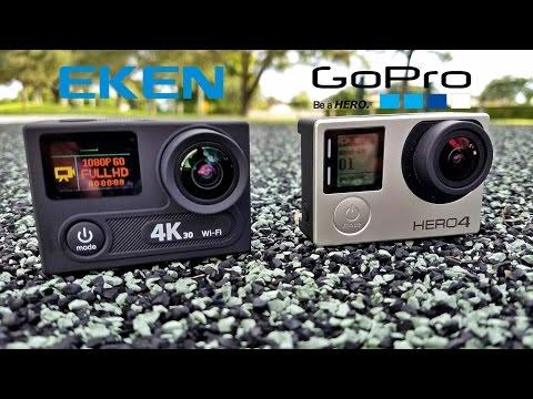 Eken H8 - The $80 4K 30FPS Action Camera - Beats the Gopro?