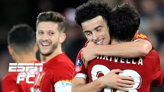 Liverpool beat rival Everton behind AMAZING goal from Curtis Jones | FA Cup Highlights