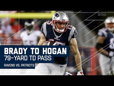 Brady Launches 79-Yard Bomb to Chris Hogan for the TD! | Ravens vs. Patriots | NFL Wk. 14 Highlights
