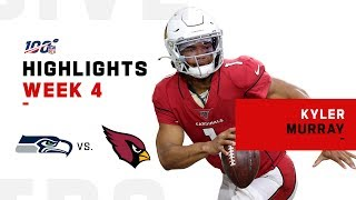 Kyler Murray Throws for 241 Yds | NFL 2019 Highlights