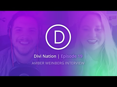 The Benefits of Freelancing for Design Agencies with Amber Weinberg - Divi Nation, Episode 19