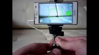 Как подключить Selfie monopod?