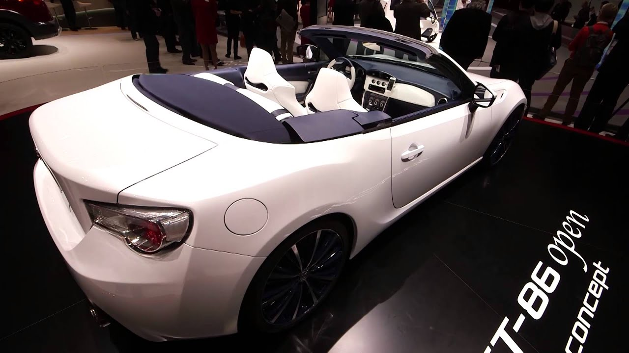 Toyota Gt 86 Convertible At The Geneva Motor Show 2017 Which First Look