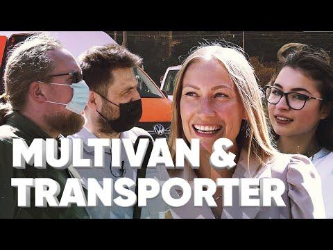 VW Multivan 6.1 \u0026 Volkswagen Transporter 6.1 - Большой тест-драйв / Сколько денег нужно девушкам?
