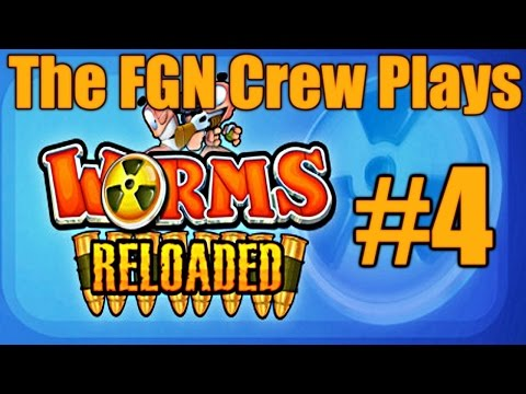 The FGN Crew Plays: Worms Reloaded #4 - Living On The Edge (PC)
