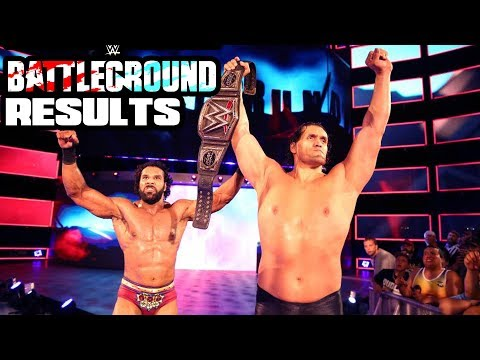 WWE BATTLEGROUND 2017 REVIEW AND RESULTS! (Going In Raw Podcast Ep. 261)