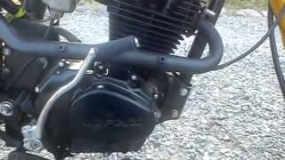 Dirt bike Lifan 150cc moteur vertical .