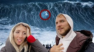 Surfing the BIGGEST Waves on the PLANET 🌊
