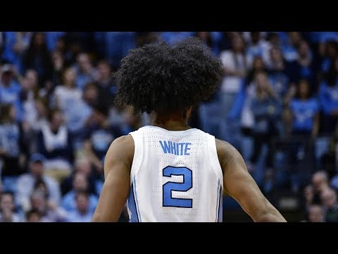 UNC Men's Basketball: Coby White Scores 34 in Win Over Orange