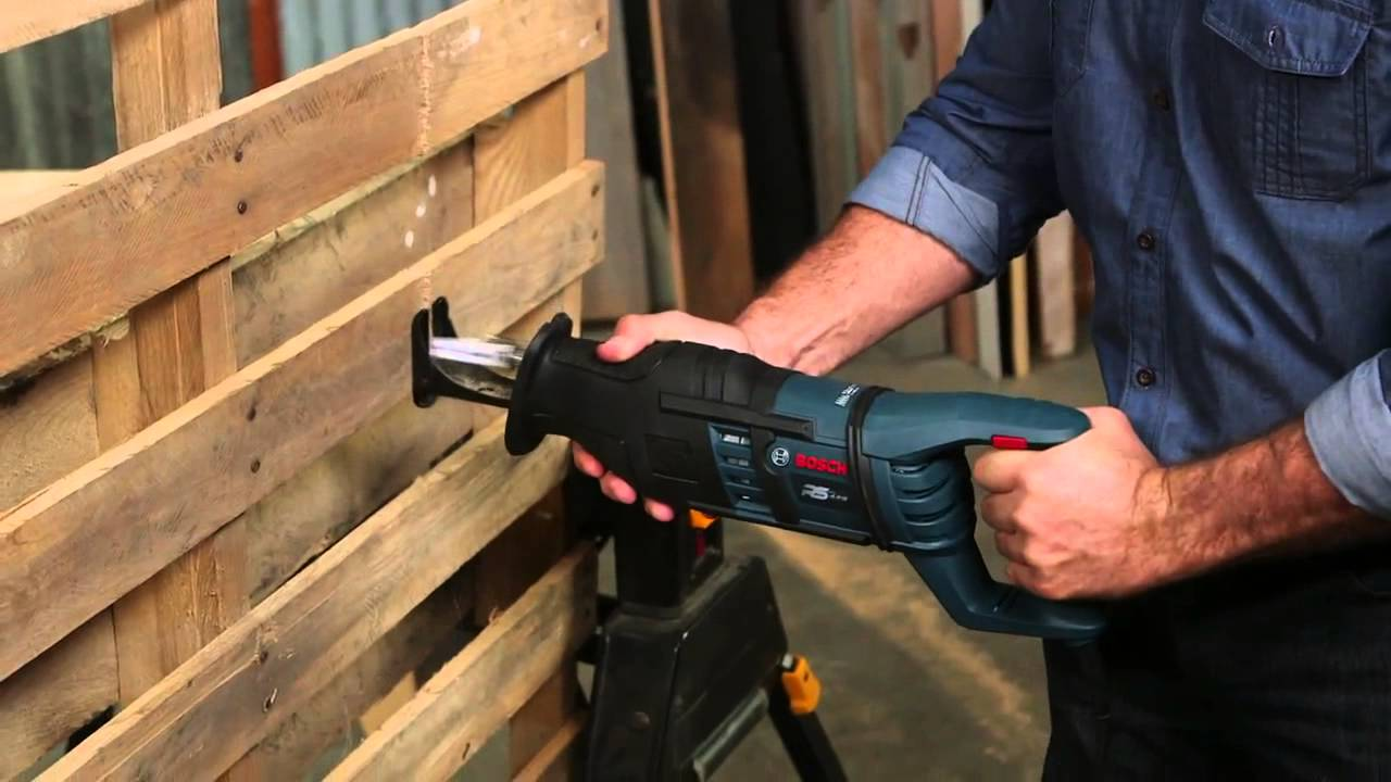 Bosch rs428 14 amp 1 1 8 in reciprocating saw product videos greentooth Gallery