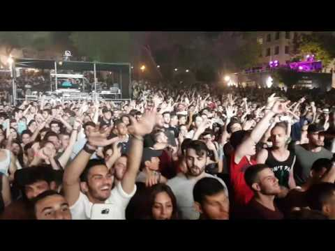 Playing Wild Wild West Remix @ Israel University Festival