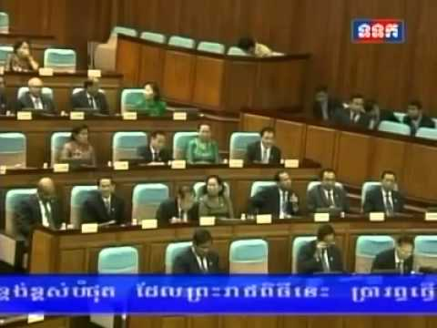 Khmernewstime - HENG Samrin Confused to Mention 55 Over 55 Seats