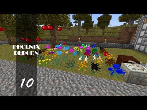 """Minecraft : Phoenix Reborn : 10 : """"Botania Plant Farm"""""""