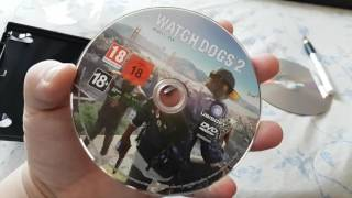 WatchDogs 2 PC  unboxing