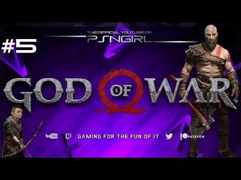 [P5] God Of War 2018 Playthrough - The Witch Of The Woods
