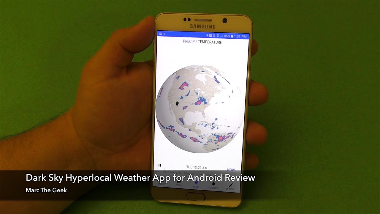 Dark Sky Hyperlocal Weather App for Android Review by Marc The Geek