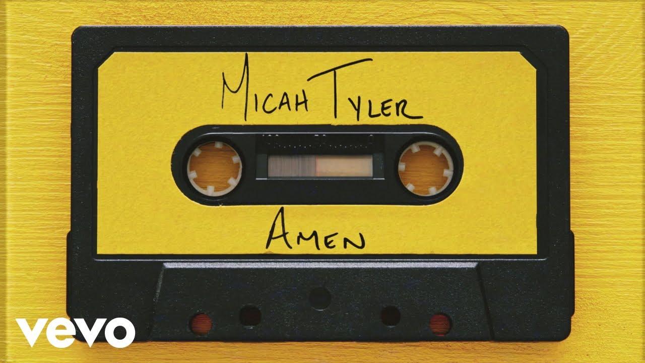 Micah Tyler - AMEN (Official Lyric Video)