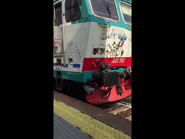 E633 in transito a Monza