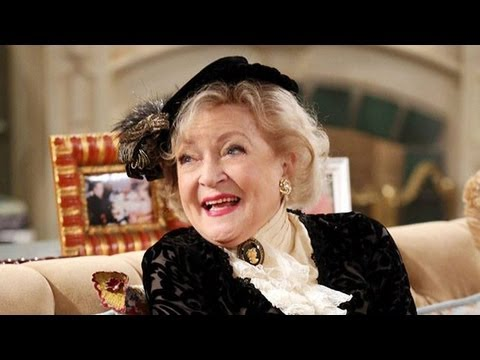 Hot in Cleveland: Elka Betty White Practices 'Downton Abbey' Accent